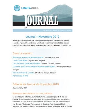 Journal 2019 11