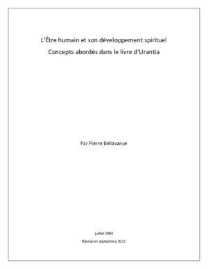 L'Être humain et son développement spirituel