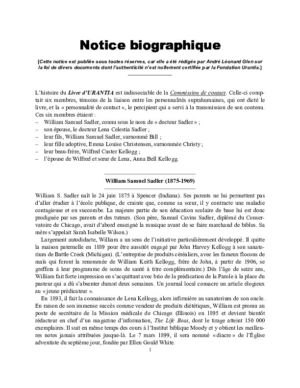 Notice biographique