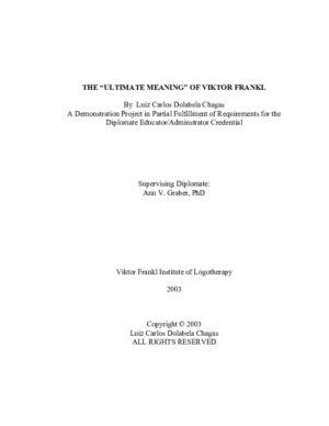 Viktor Frankl. vs. Urantia Book