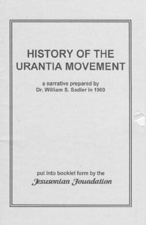 History of the Urantia Movement