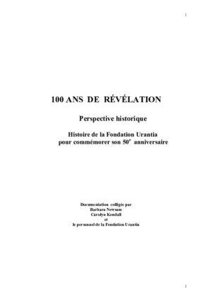 100 Ans de Révélation