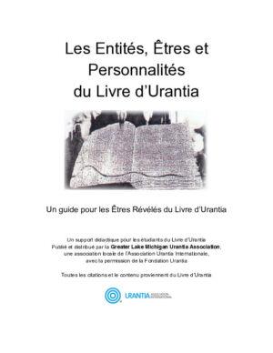 Les Entités, Êtres et Personnalités du Livre d'Urantia