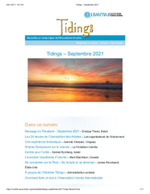 Tidings - Septembre 2021
