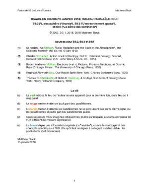 Concordances fascicule 58