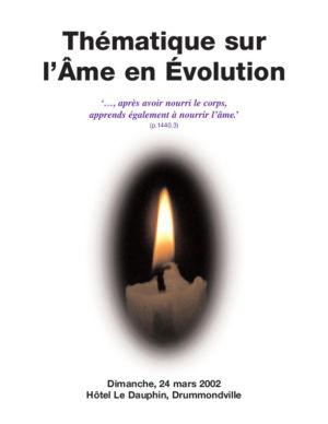 L'âme en évolution