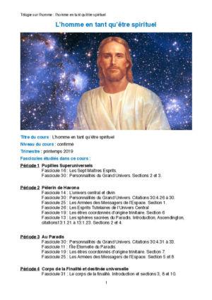 L'homme en tant qu'être spirituel