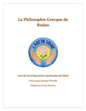 La Philosophie Grecque de Rodan, cours pour groupe d'étude